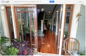 Bed & Breakfast Google Virtual Tour