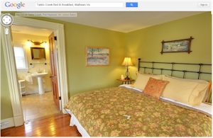 Bed Breakfasts Google Virtual Tours