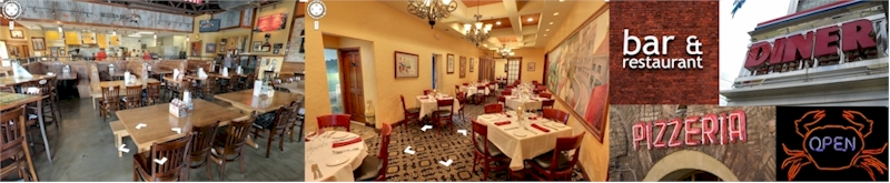 Restaurant Virtual Tours on Google